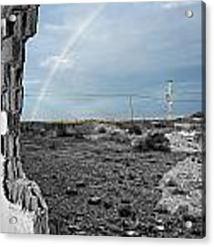 In The Beauty Of Abandoned 03 Acrylic Print by Arik Baltinester