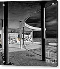 In The Beauty Of Abandoned 04 Acrylic Print by Arik Baltinester