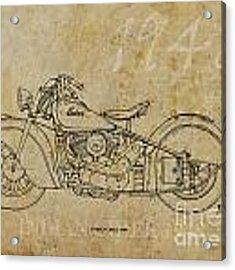 Indian Chief 1948 Acrylic Print
