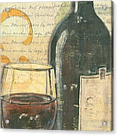 Italian Wine And Grapes Acrylic Print