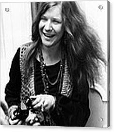 Janis Joplin 1969 Acrylic Print