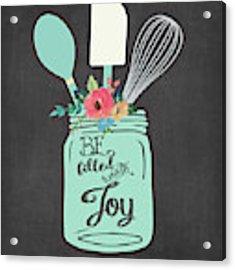 Joy Jar Acrylic Print