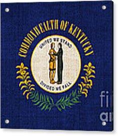 Kentucky State Flag Acrylic Print