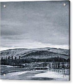 Land Shapes 11 Acrylic Print by Priska Wettstein