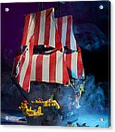 Lego Pirate Ship Acrylic Print
