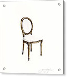 Louis Style Chair Acrylic Print