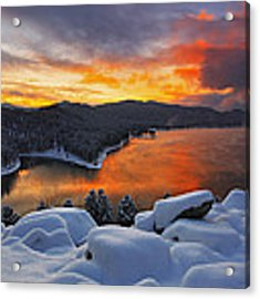 Magic Sunset Acrylic Print