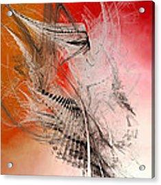Mercury In Aries - Cardinal Fire Acrylic Print by Menega Sabidussi