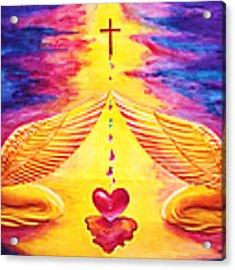 Mercy Acrylic Print by Nancy Cupp