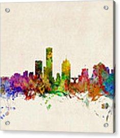 Milwaukee Wisconsin Skyline Acrylic Print