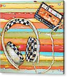 Mix Tape Acrylic Print by Danny Phillips