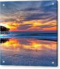 Morning Reflections Acrylic Print by Francis Trudeau