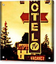 Motel Hell Acrylic Print