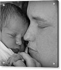 Mother's Love Acrylic Print by Kelly Hazel