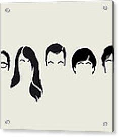 My-big-bang-hair-theory Acrylic Print