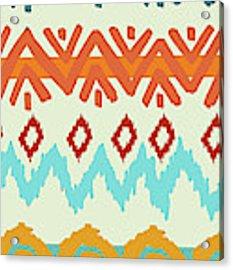 Navajo Missoni I Acrylic Print