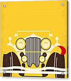 No206 My The Great Gatsby Minimal Movie Poster Acrylic Print by Chungkong Art