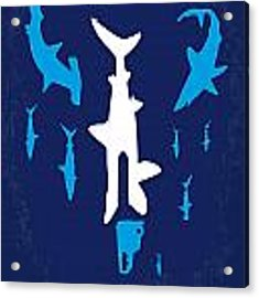 No216 My Sharknado Minimal Movie Poster Acrylic Print