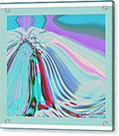 Ocean Deco - Ticker Symbol Jamn 7/5/2011 To 8/1/2011 Acrylic Print by Stephen Coenen
