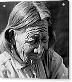 Old Arapaho Man Circa 1910 Acrylic Print