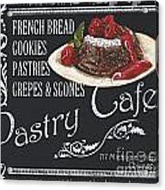 Pastry Cafe Acrylic Print