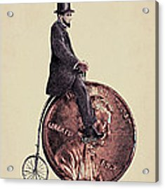 Penny Farthing Acrylic Print by Eric Fan