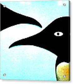Penquin Love Acrylic Print by Colette V Hera  Guggenheim