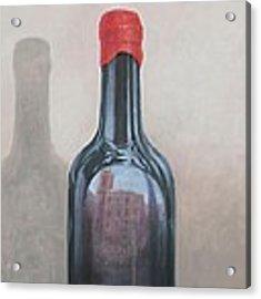 Pienza Reflection Acrylic Print