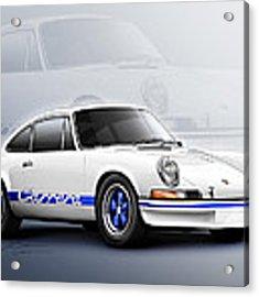 Porsche 911 Rs 1973 Acrylic Print