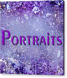 Portraits Acrylic Print by Donna Proctor