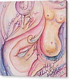 Pregnant With Desire I Acrylic Print by Lynn Buettner