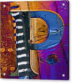 Purple Infusion Acrylic Print
