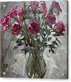 Roses For Viola Acrylic Print