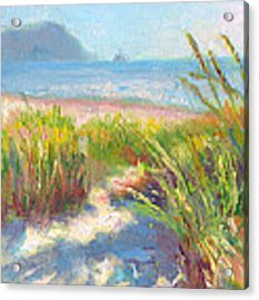 Seaside Afternoon Acrylic Print by Talya Johnson