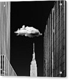 Single Cloud Acrylic Print by Jackson Carvalho