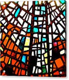 Skalholt Window Acrylic Print by HweeYen Ong