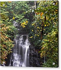 Soco Falls Acrylic Print by Francis Trudeau
