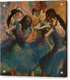 Standing Ballerinas Acrylic Print by Lauren Heller