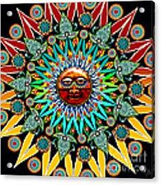 Sun Shaman Acrylic Print by Christopher Beikmann
