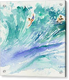 Surf's Up Acrylic Print by Lynn Buettner
