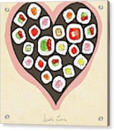 Sushi Love Acrylic Print