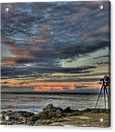The Photographer Acrylic Print by Nathan Rupert