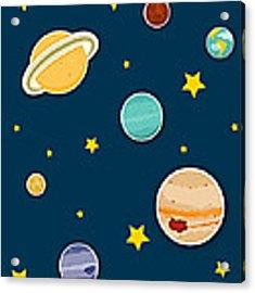 The Planets  Acrylic Print