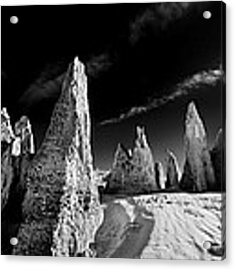 The Sky Above Us Acrylic Print by Julian Cook
