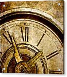 Time Travel Acrylic Print by Carol Leigh