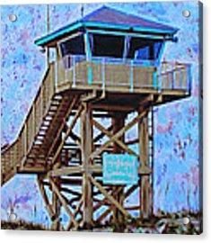 To The Beach Acrylic Print by Deborah Boyd