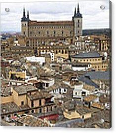 Toledo Spain Cityscape Acrylic Print by Nathan Rupert