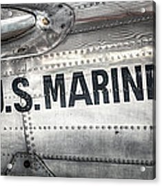 United States Marines - Beech C-45h Expeditor Acrylic Print by Gary Heller
