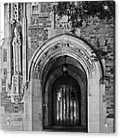 University Of Notre Dame Acrylic Print
