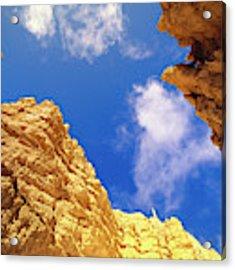 View From Of Bryce Canyon Acrylic Print by Yva Momatiuk John Eastcott